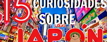15 Curiosidades sobre Japón