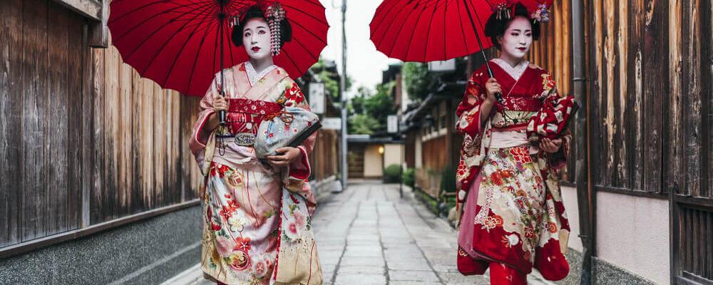 VESTIDO TRADICIONAL JAPONÉS: KIMONO