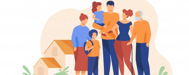 LA FAMILIA EN CHINA (家庭), COREA (가족) Y JAPÓN (家族)